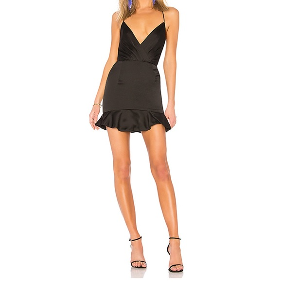 56c1ed9a3a0 Revolve NBD Marilyn Black Dress XS. M 5c75d284e944ba50e5903f9f